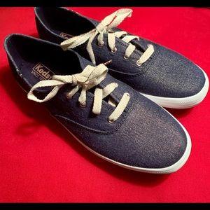 Keds Lurex Denim Sneakers